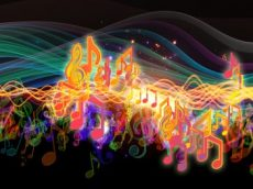 NVMTA Neon Music Notes