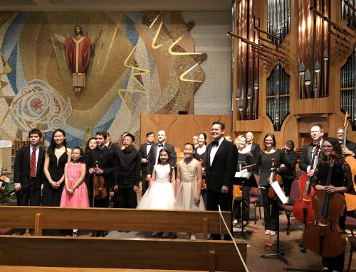 NVMTA Concerto Winners & The Amadeus Orchestra 2019