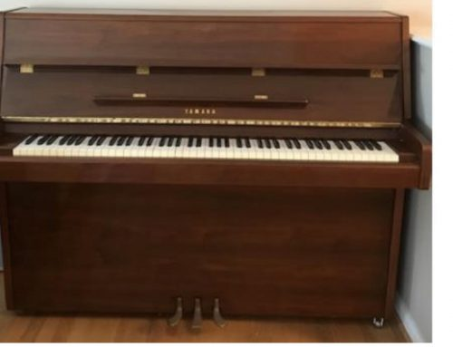 YAMAHA 1981 P2 Studio Upright 45' $2795