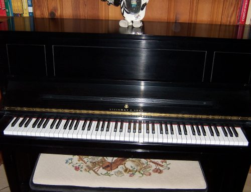 For sale: 1978 Steinway console piano, model 1098